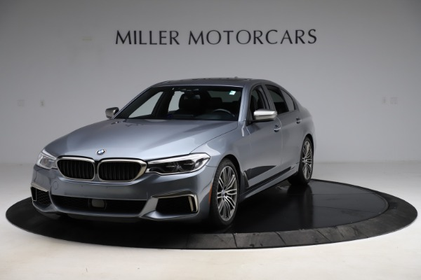 Used 2018 BMW 5 Series M550i xDrive for sale $49,900 at Maserati of Greenwich in Greenwich CT 06830 1
