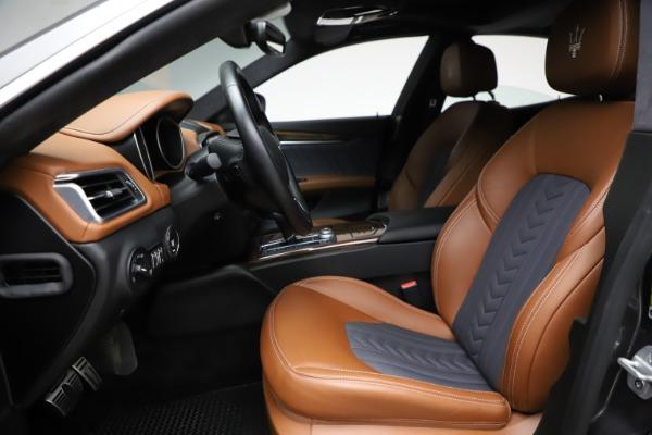 Used 2018 Maserati Ghibli SQ4 GranLusso for sale Call for price at Maserati of Greenwich in Greenwich CT 06830 14