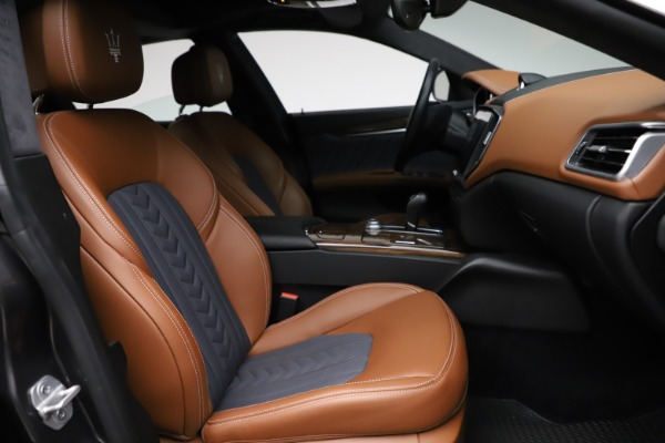 Used 2018 Maserati Ghibli SQ4 GranLusso for sale Call for price at Maserati of Greenwich in Greenwich CT 06830 22