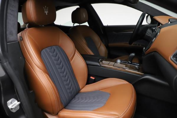 Used 2018 Maserati Ghibli SQ4 GranLusso for sale Call for price at Maserati of Greenwich in Greenwich CT 06830 23