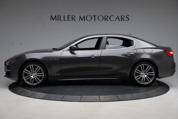 Used 2018 Maserati Ghibli SQ4 GranLusso for sale Call for price at Maserati of Greenwich in Greenwich CT 06830 3