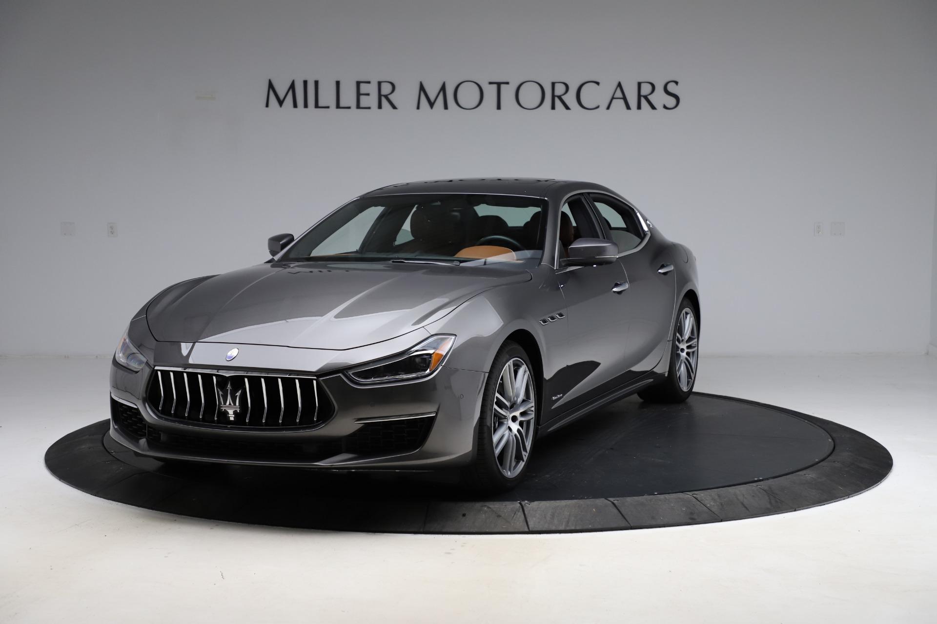 Used 2018 Maserati Ghibli SQ4 GranLusso for sale Call for price at Maserati of Greenwich in Greenwich CT 06830 1