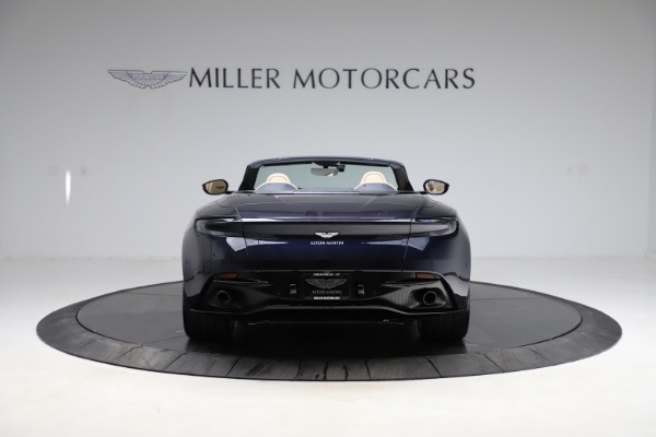 New 2021 Aston Martin DB11 Volante Convertible for sale $274,916 at Maserati of Greenwich in Greenwich CT 06830 5