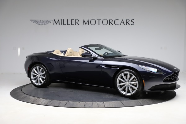 New 2021 Aston Martin DB11 Volante Convertible for sale $274,916 at Maserati of Greenwich in Greenwich CT 06830 9