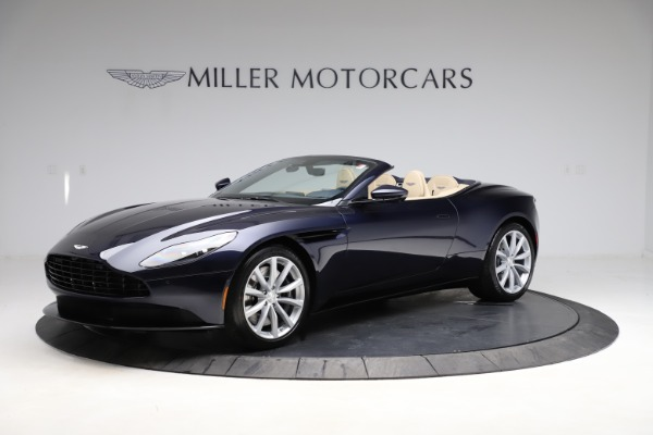 New 2021 Aston Martin DB11 Volante Convertible for sale $274,916 at Maserati of Greenwich in Greenwich CT 06830 1