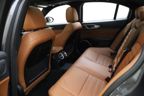 New 2021 Alfa Romeo Giulia Ti Sport Q4 for sale $52,100 at Maserati of Greenwich in Greenwich CT 06830 25