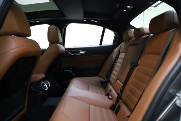 New 2021 Alfa Romeo Giulia Ti Sport Q4 for sale $52,100 at Maserati of Greenwich in Greenwich CT 06830 26