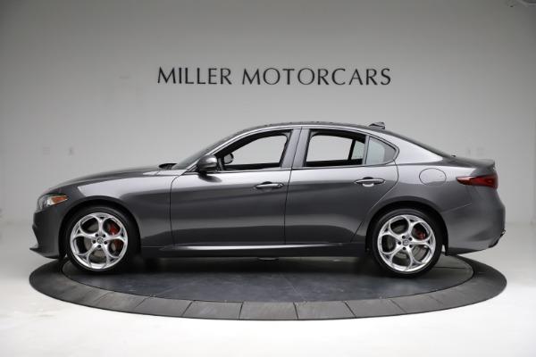 New 2021 Alfa Romeo Giulia Ti Sport Q4 for sale $52,100 at Maserati of Greenwich in Greenwich CT 06830 3