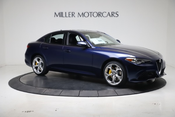 New 2021 Alfa Romeo Giulia Ti Sport Q4 for sale $52,100 at Maserati of Greenwich in Greenwich CT 06830 10
