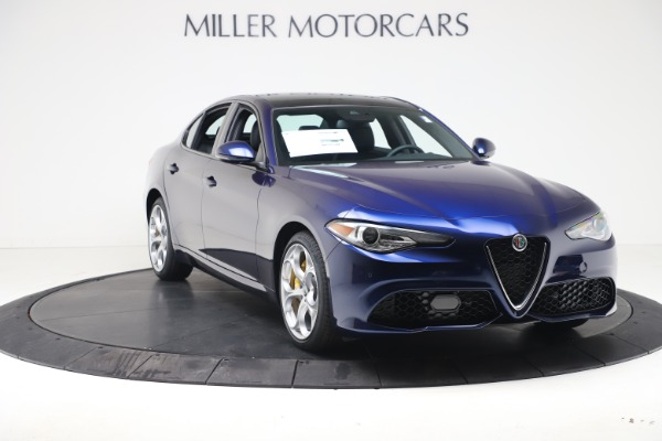 New 2021 Alfa Romeo Giulia Ti Sport Q4 for sale $52,100 at Maserati of Greenwich in Greenwich CT 06830 11