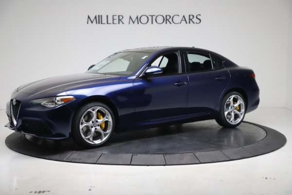 New 2021 Alfa Romeo Giulia Ti Sport Q4 for sale $52,100 at Maserati of Greenwich in Greenwich CT 06830 2
