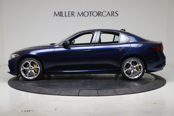 New 2021 Alfa Romeo Giulia Ti Sport Q4 for sale $52,100 at Maserati of Greenwich in Greenwich CT 06830 3