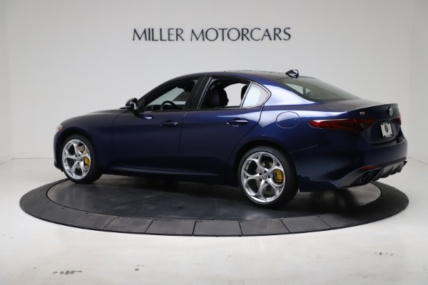 New 2021 Alfa Romeo Giulia Ti Sport Q4 for sale $52,100 at Maserati of Greenwich in Greenwich CT 06830 4