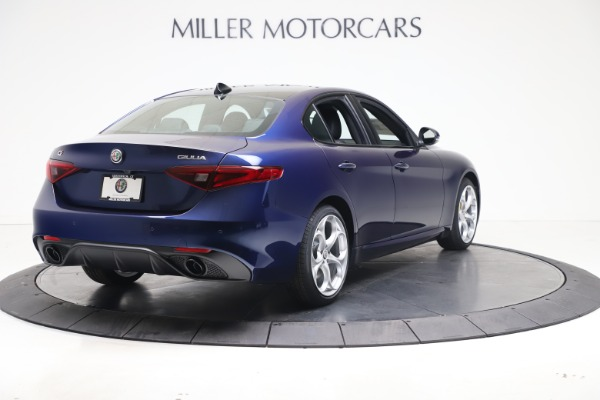 New 2021 Alfa Romeo Giulia Ti Sport Q4 for sale $52,100 at Maserati of Greenwich in Greenwich CT 06830 7