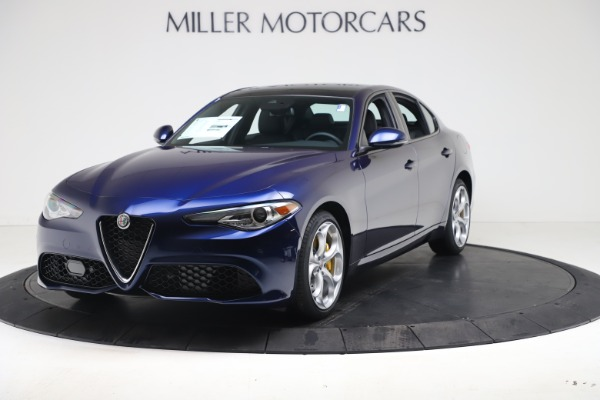 New 2021 Alfa Romeo Giulia Ti Sport Q4 for sale $52,100 at Maserati of Greenwich in Greenwich CT 06830 1