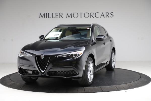 New 2021 Alfa Romeo Stelvio Ti Lusso Q4 for sale $57,750 at Maserati of Greenwich in Greenwich CT 06830 1