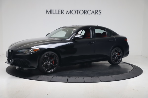 New 2021 Alfa Romeo Giulia Ti Sport Q4 for sale $56,300 at Maserati of Greenwich in Greenwich CT 06830 2