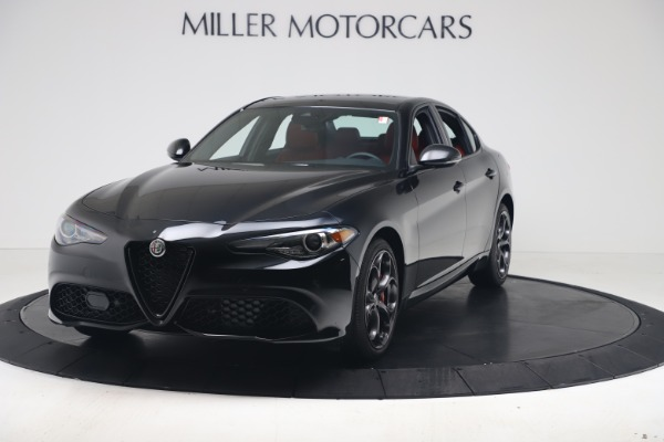 New 2021 Alfa Romeo Giulia Ti Sport Q4 for sale $56,300 at Maserati of Greenwich in Greenwich CT 06830 1