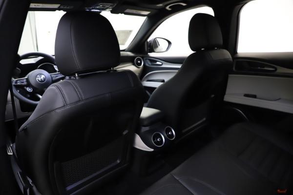 New 2021 Alfa Romeo Stelvio Ti Sport Q4 for sale Sold at Maserati of Greenwich in Greenwich CT 06830 20
