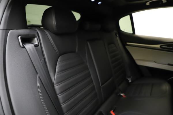 New 2021 Alfa Romeo Stelvio Ti Sport Q4 for sale Sold at Maserati of Greenwich in Greenwich CT 06830 26