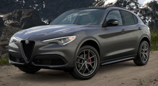 New 2021 Alfa Romeo Stelvio Ti Sport Q4 for sale $56,750 at Maserati of Greenwich in Greenwich CT 06830 1