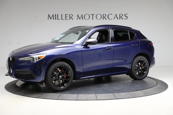 New 2021 Alfa Romeo Stelvio Ti Sport Q4 for sale $56,750 at Maserati of Greenwich in Greenwich CT 06830 2