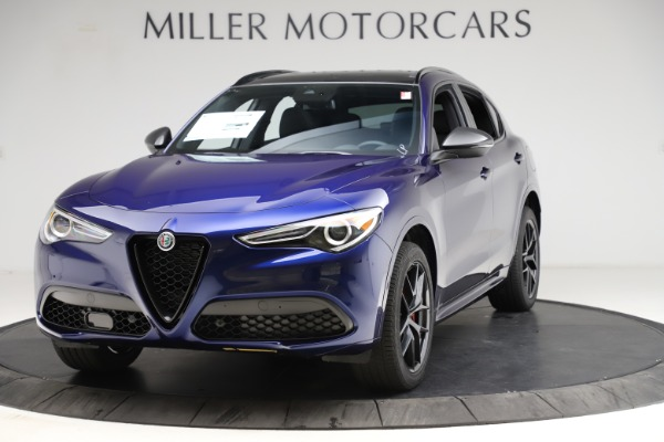 New 2021 Alfa Romeo Stelvio Ti Sport Q4 for sale $56,750 at Maserati of Greenwich in Greenwich CT 06830 1