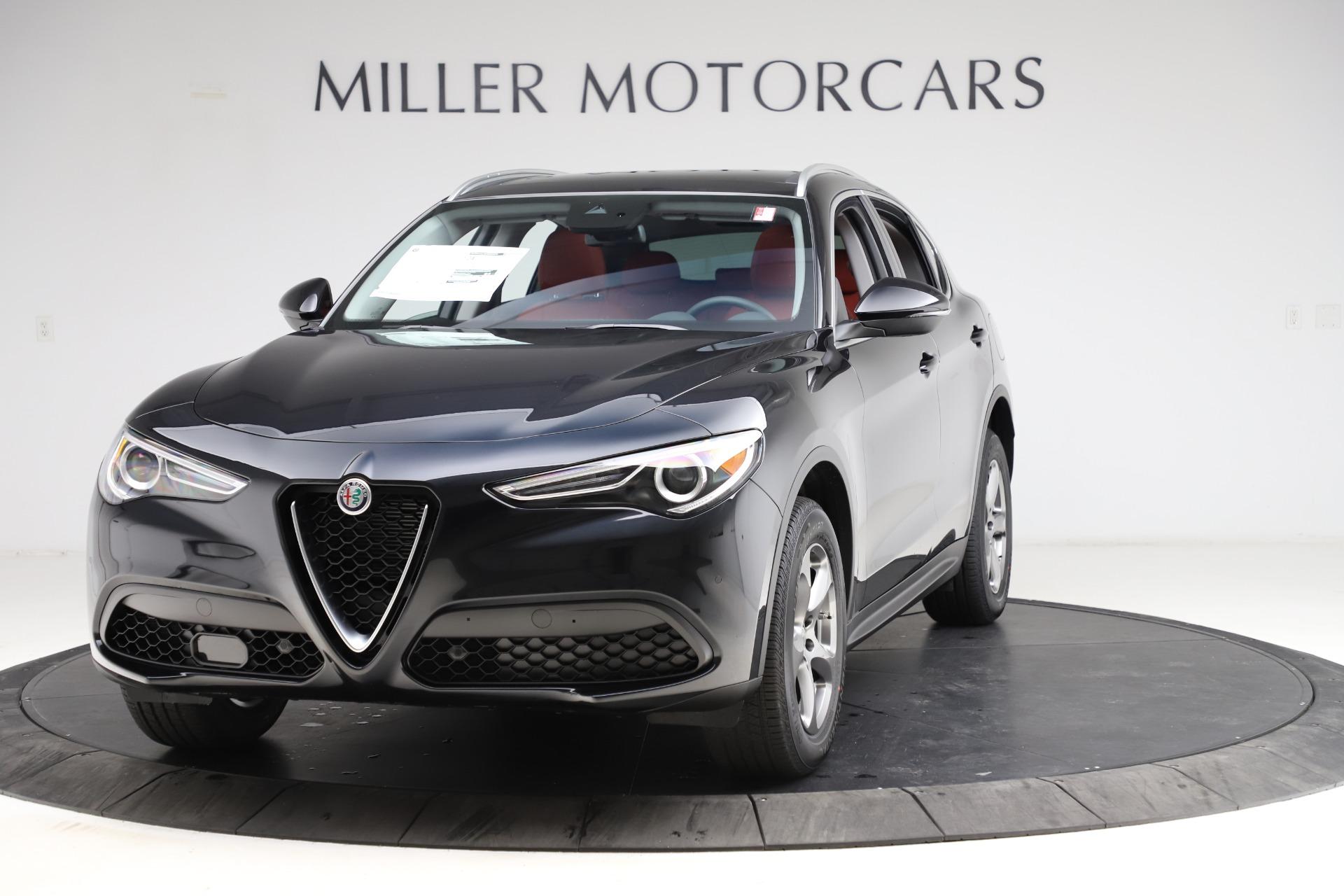 New 2021 Alfa Romeo Stelvio Q4 for sale $48,645 at Maserati of Greenwich in Greenwich CT 06830 1