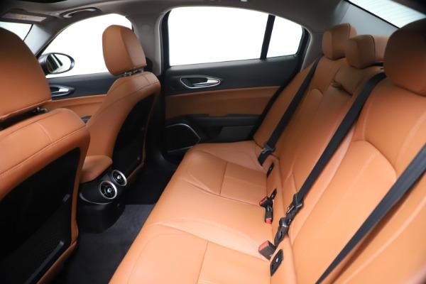 New 2021 Alfa Romeo Giulia Ti Q4 for sale $51,100 at Maserati of Greenwich in Greenwich CT 06830 19