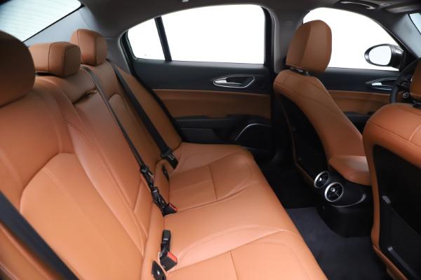 New 2021 Alfa Romeo Giulia Ti Q4 for sale $51,100 at Maserati of Greenwich in Greenwich CT 06830 27