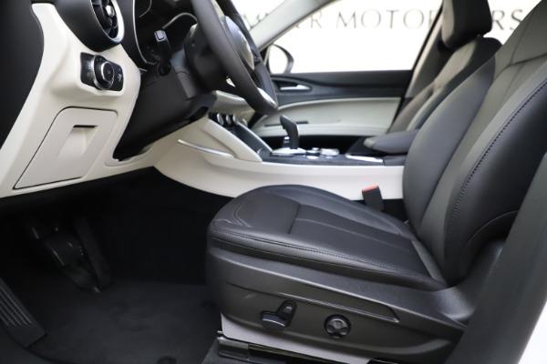 New 2021 Alfa Romeo Stelvio Q4 for sale Call for price at Maserati of Greenwich in Greenwich CT 06830 14