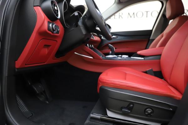 New 2021 Alfa Romeo Stelvio Q4 for sale $48,050 at Maserati of Greenwich in Greenwich CT 06830 14