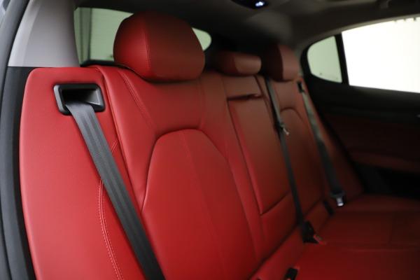 New 2021 Alfa Romeo Stelvio Q4 for sale $48,050 at Maserati of Greenwich in Greenwich CT 06830 26