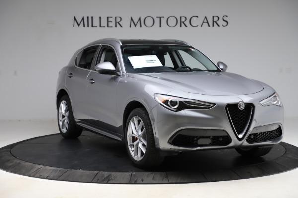 New 2021 Alfa Romeo Stelvio Ti Q4 for sale $55,900 at Maserati of Greenwich in Greenwich CT 06830 11