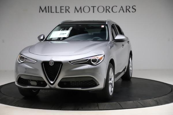New 2021 Alfa Romeo Stelvio Ti Q4 for sale $55,900 at Maserati of Greenwich in Greenwich CT 06830 1