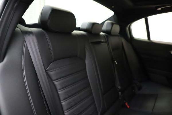 New 2021 Alfa Romeo Giulia Ti Sport for sale $52,940 at Maserati of Greenwich in Greenwich CT 06830 26