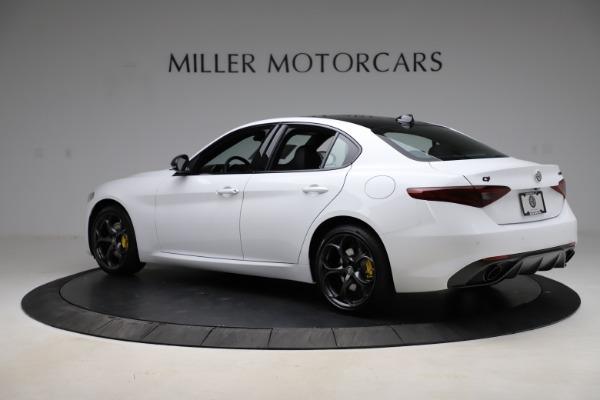 New 2021 Alfa Romeo Giulia Ti Sport for sale $52,940 at Maserati of Greenwich in Greenwich CT 06830 4