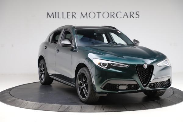 New 2021 Alfa Romeo Stelvio Ti Sport Q4 for sale $56,450 at Maserati of Greenwich in Greenwich CT 06830 11