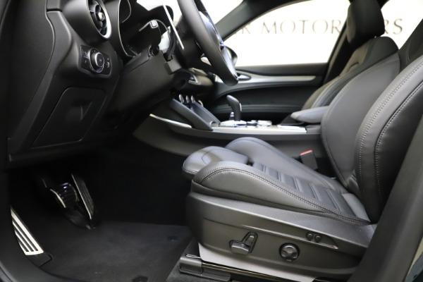 New 2021 Alfa Romeo Stelvio Ti Sport Q4 for sale Sold at Maserati of Greenwich in Greenwich CT 06830 14