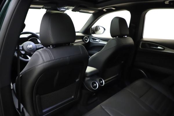New 2021 Alfa Romeo Stelvio Ti Sport Q4 for sale $56,450 at Maserati of Greenwich in Greenwich CT 06830 20