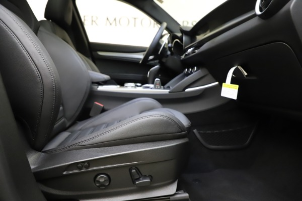 New 2021 Alfa Romeo Stelvio Ti Sport Q4 for sale $56,450 at Maserati of Greenwich in Greenwich CT 06830 23