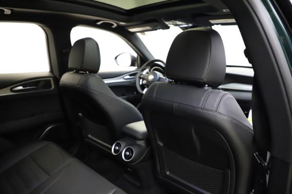 New 2021 Alfa Romeo Stelvio Ti Sport Q4 for sale $56,450 at Maserati of Greenwich in Greenwich CT 06830 28