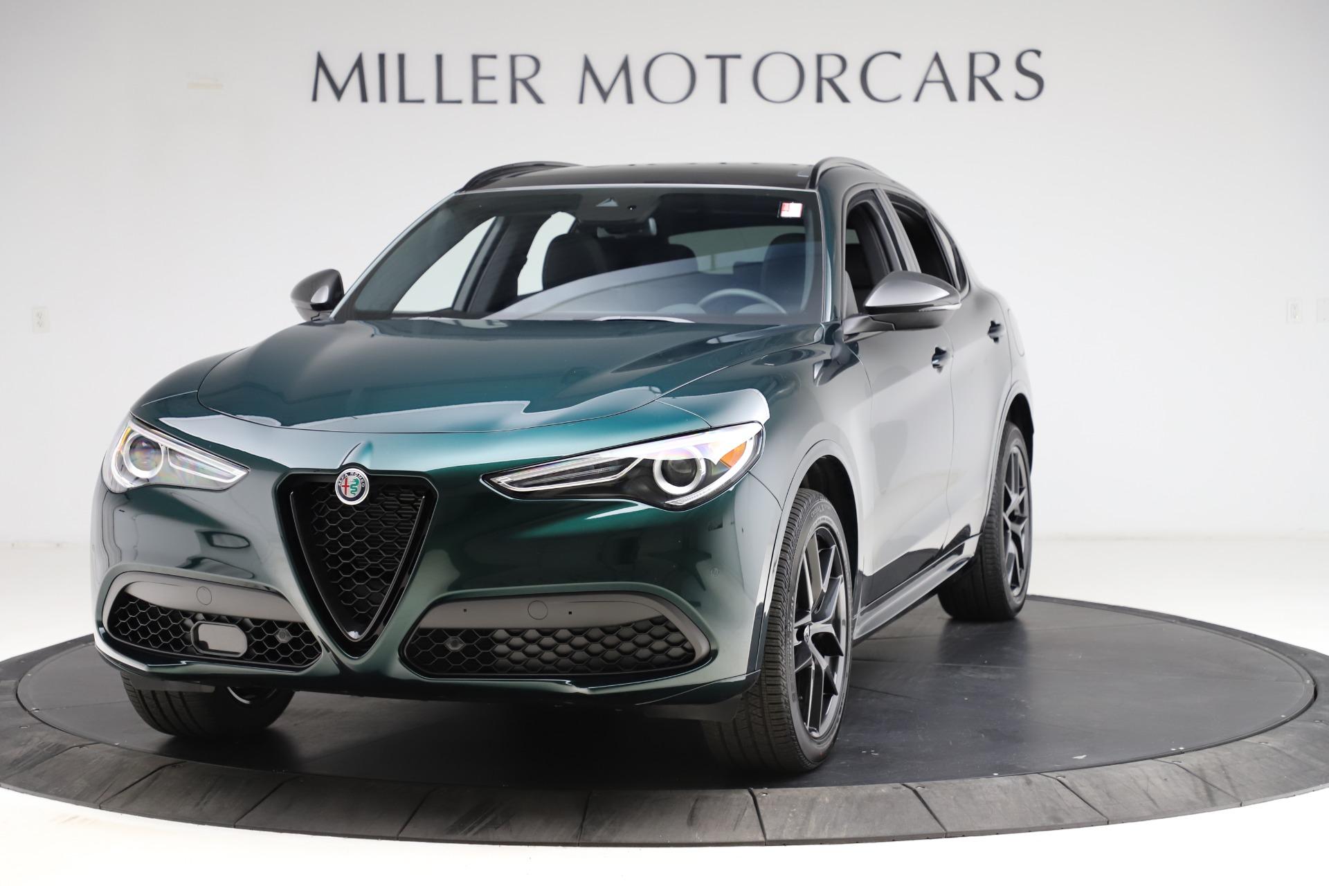 New 2021 Alfa Romeo Stelvio Ti Sport Q4 for sale $56,450 at Maserati of Greenwich in Greenwich CT 06830 1