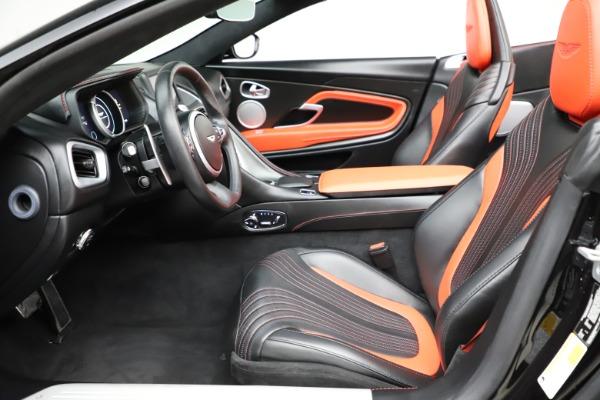 Used 2019 Aston Martin DB11 Volante for sale $209,990 at Maserati of Greenwich in Greenwich CT 06830 14