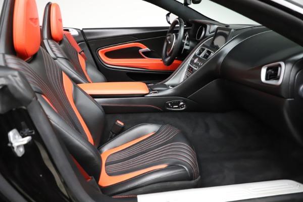 Used 2019 Aston Martin DB11 Volante for sale $209,990 at Maserati of Greenwich in Greenwich CT 06830 21