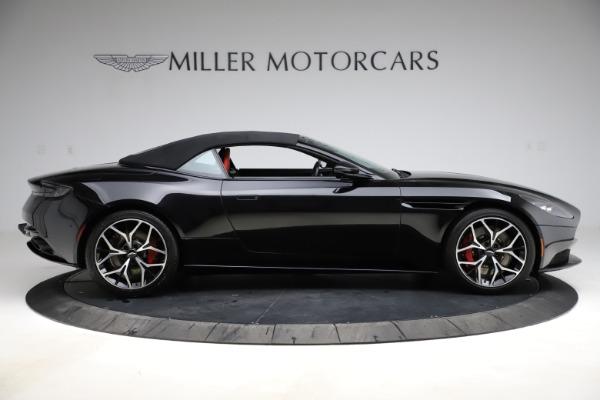 Used 2019 Aston Martin DB11 Volante for sale $209,990 at Maserati of Greenwich in Greenwich CT 06830 27