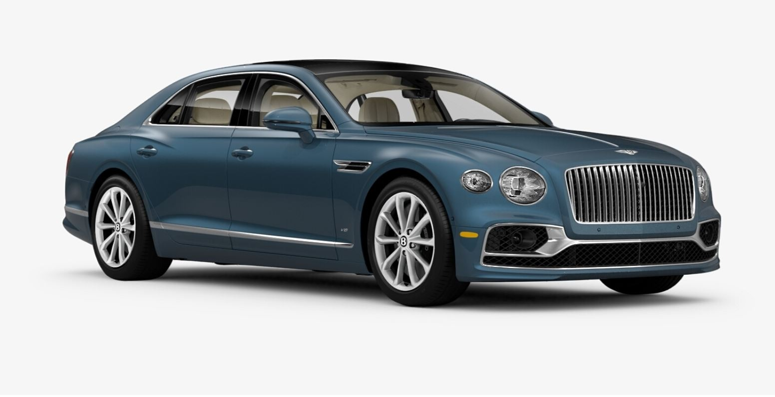 New 2021 Bentley Flying Spur V8 for sale $226,725 at Maserati of Greenwich in Greenwich CT 06830 1