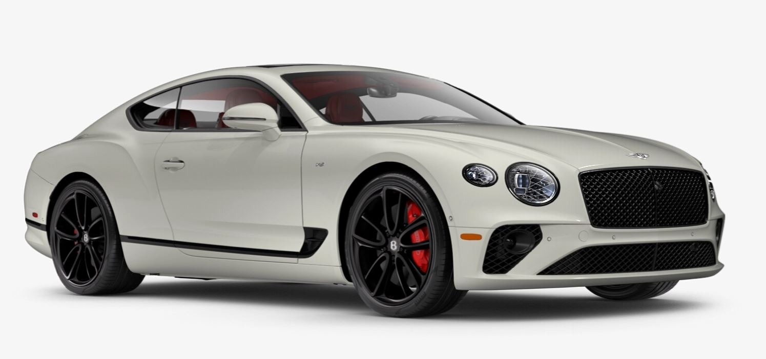 New 2021 Bentley Continental GT V8 for sale $270,170 at Maserati of Greenwich in Greenwich CT 06830 1