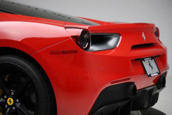 Used 2018 Ferrari 488 GTB for sale Sold at Maserati of Greenwich in Greenwich CT 06830 27