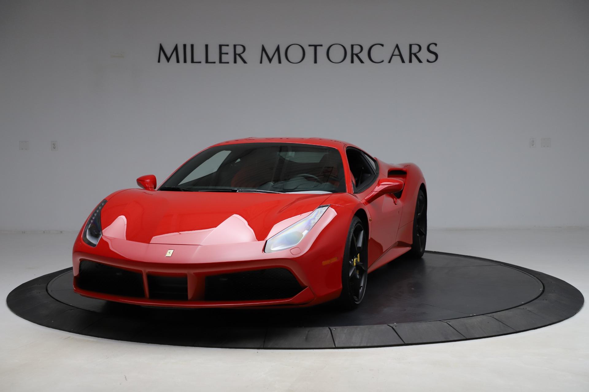 Used 2018 Ferrari 488 GTB for sale Sold at Maserati of Greenwich in Greenwich CT 06830 1